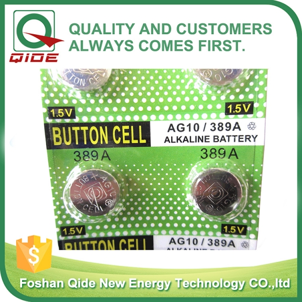 Blister Card AG10 Button ...