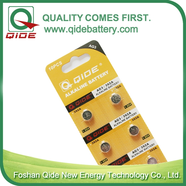 Blister Card AG3 Button Cell